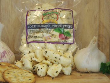 Roasted Garlic Cheese Curds