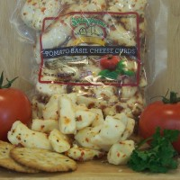 Tomato Basil Cheese Curds