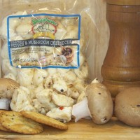 Cracked Pepper and Mushroom Cheese Curds